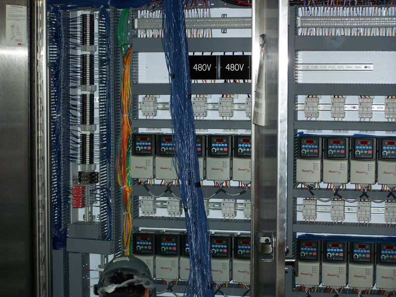 Industrial Electrical Installation for Food Packaging Facility